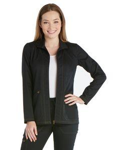 Custom Dickies Essence Zip Front Warm-Up Jacket