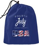 Large Drawstring Bag - Customize with ANY design!