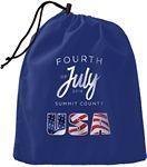 Custom Large Drawstring Bag - Fully Customizable - Full Digital Imprint - Deluxe Fabric