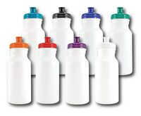 20 Oz. Bike Water Bottle w/Color Lid