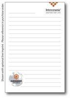"""4"""" x 6"""" 50-Sheet Notepad"""