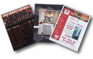 8.5 x 11 Booklet printed full color