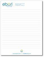 """8 3/8"""" x 10 7/8"""" 25-Sheet Notepad"""
