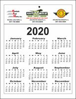 "8.5"" x 11"" Year-at-a-Glance Calendars"