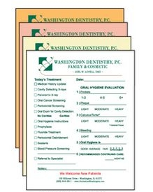 8.5 x 11 4-Part Full Color Carbonless Forms