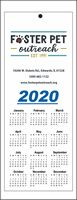 "4.25"" x 11"" Year-at-a-Glance Calendars"