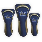 Stretch Fit Golf Head Covers (Set of 3)