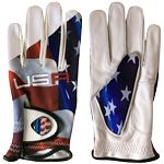 New Sublimated Golf Glove w/ Removable Ball Marker