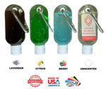 Custom Cool Break Hand Soap, 1.9 Oz Tottle w/Carabiner