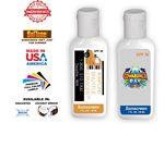 Custom 1 Oz. Coconut SPF30 Sunscreen Lotion - Full Color Label