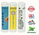 Custom Spf 15 Peppermint Bees Wax Lip Balm