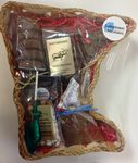 Custom Minnesota State Shaped Large Wooden Gift Basket