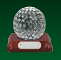"Glass Golf Ball Award (3.25"")"