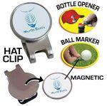 Hat Clip Golf Ball Marker Bottle Opener