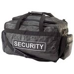 Custom Security Lambskin Patch Leather Duffle Bag