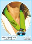 Hi-Vis Safety Green CooLooP Active Water Scarf