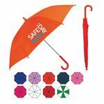 Custom Solid Color Manual Open Kid's Umbrella (34