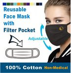 Custom Printed Reusable Adjustable Face Mask