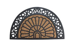 Half Moon Fancy Welcome Mat