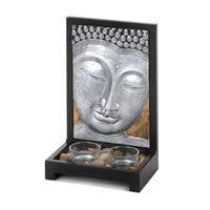Buddha Plaque Candle Decor