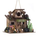Custom Scout Camp Trading Post Birdhouse