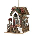 Custom Fishing Pier Birdhouse