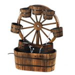 Custom Wagon Wheel Fountain