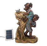 Custom Cool Drink Children Solar Fountain