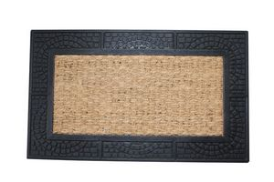Welcome Mat w/ Reptile Texture Border