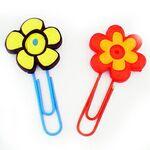 Flower Clip Bookmark