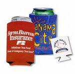 Custom Coolie Beverage Can Insulator