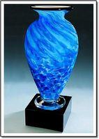 """Arctic Pool Mercury Vase w/o Marble Base (3.75""""x6"""")"""