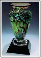 "Jade Monarch Athena Vase w/o Marble Base (3.25""x6"")"