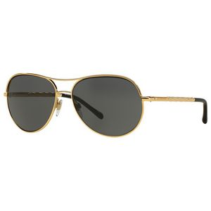 885affe1792 Burberry Aviator Gold Frame Sunglasses - Gold Frame w  Silver Gradient Lens  - LUX-0BE3082-121087-57 - Swag Brokers