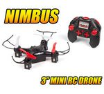 Custom 2.4 Ghz. 4.5 Channel Nimbus Quad-Drone Remote Control Ouadcopter
