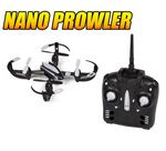 Custom 2.4 Ghz. 4.5 Channel Nano Prowler Quad-Drone Remote Control Ouadcopter