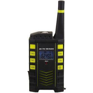 Promotional Product - Kaito KA123 Digital AM/FM & NOAA Weather Radio with  Alert & Flashlight