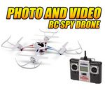 Custom Enforcer 2.4 Ghz. 4.5 Channel Camera RC Spy Drone