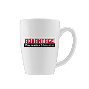 14.5 Oz. White Endeavor Vitrified Mug