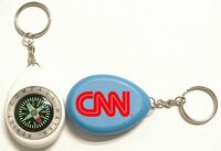 Compass with Swivel Key Chain