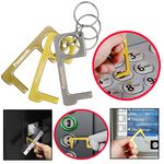 Custom PPE Door Opener Closer No-Touch w/ Key Chain