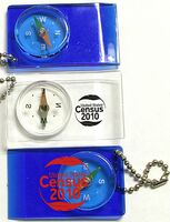 Compass Key Tag w/ Ball Chain
