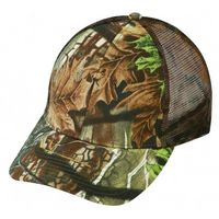 Low Crown 6 Panel, Superflauge Camo Twill Mesh Cap