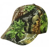 Low Crown 5 Panel Superflauge Camo Twill Cap