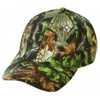 Low Crown 6 Panel Superflauge Camo Youth Twill Cap