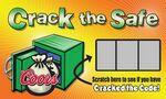 Custom Scratch Off Cards - Crack the Safe (3