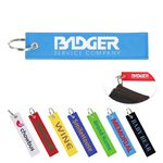 Custom Embroidered Remove Before Flight Key Tag