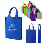 Custom Non-Woven Shopping Tote Bag Mid Size (11.8