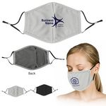 Custom Full Color Printed Cooling Face Mask