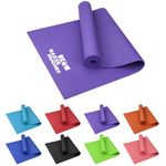 Custom Large PVC Fitness Yoga Mat